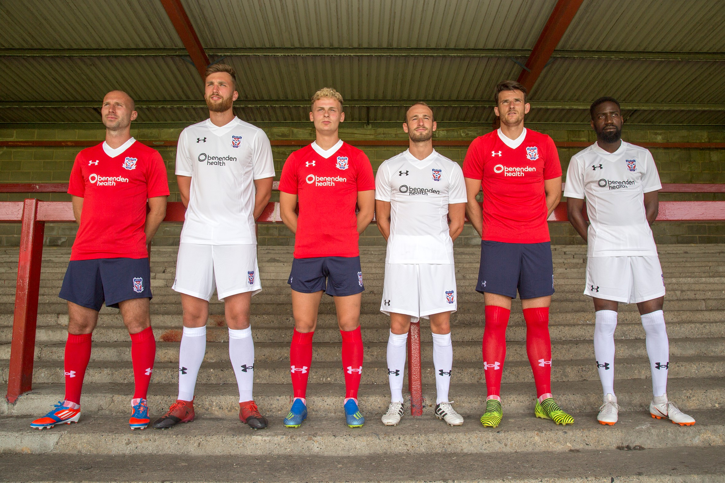 e5b055d9300 New 'Under Armour' kit unveiled | York City Football Club