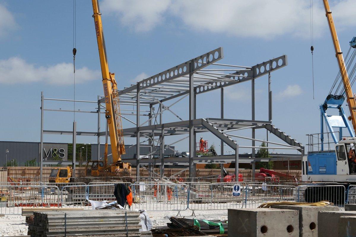 Madison Square Garden: New Stadium Steelwork On The Rise