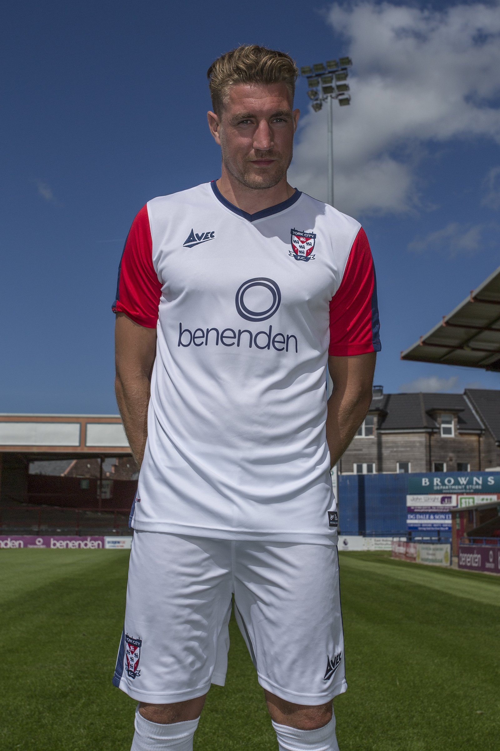 d36f6ded9a9 New White Away Kit | York City Football Club