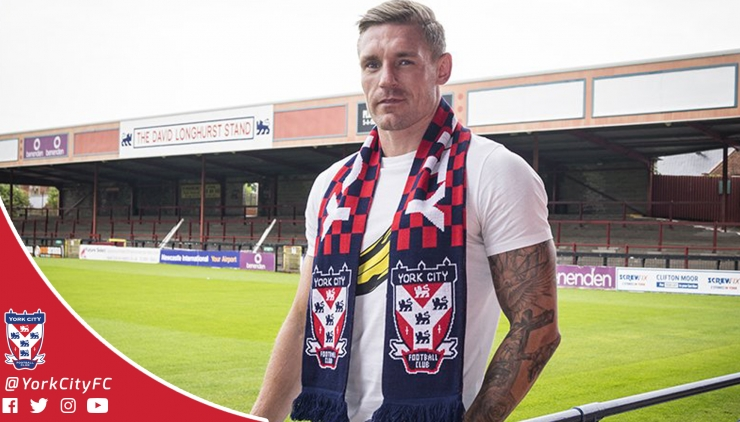 Jon Worsnop Signs For York City