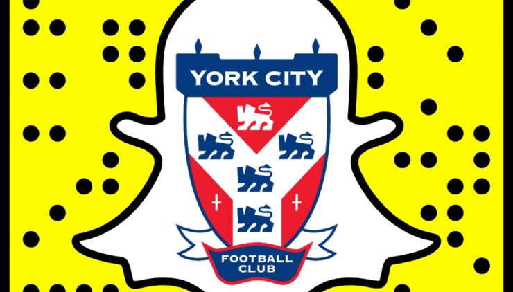 City enter the world of Snapchat! | York City Football Club