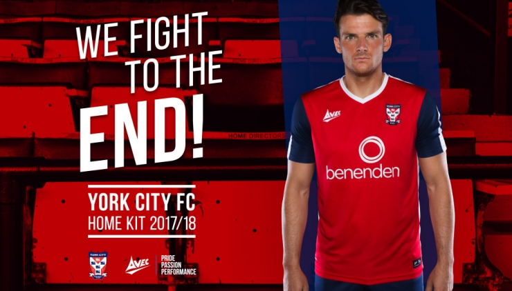 f68eac2e0d2 City Launch New Home Kit | York City Football Club
