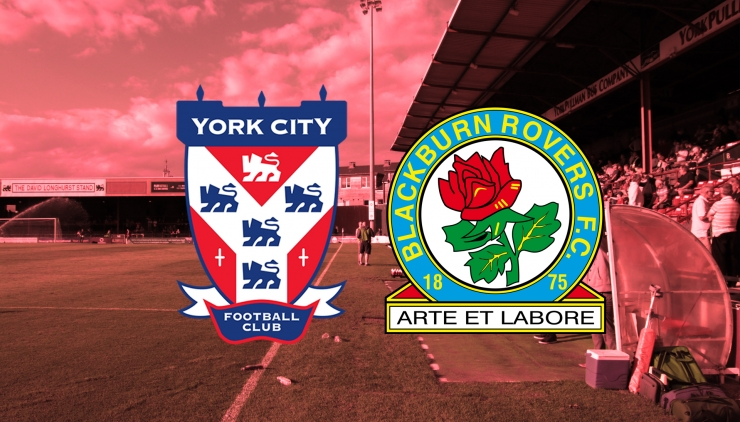 York City v Blackburn Rovers