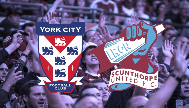 York City v Scunthorpe United